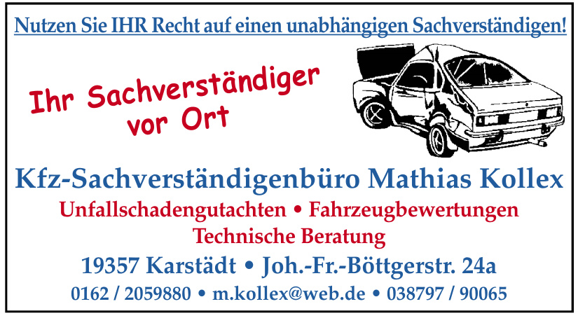 Kfz-Sachverständigenbüro Mathias Kollex