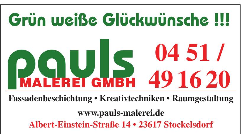 Pauls Malerei GmbH