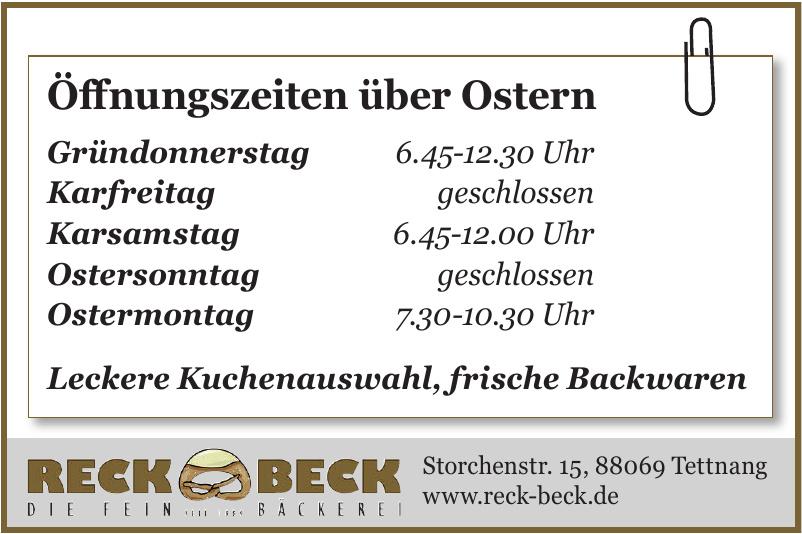 Reck Beck