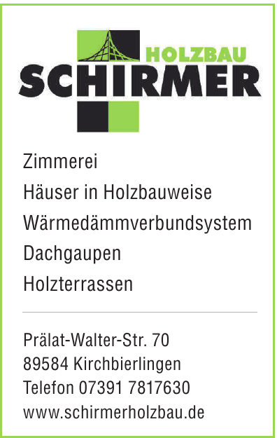 Holzbau Schirmer
