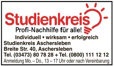Studienkreis Aschersleben
