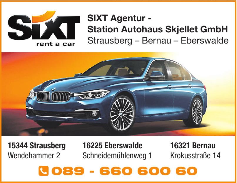 SIXT Agentur - Station Autohaus Skjellet GmbH