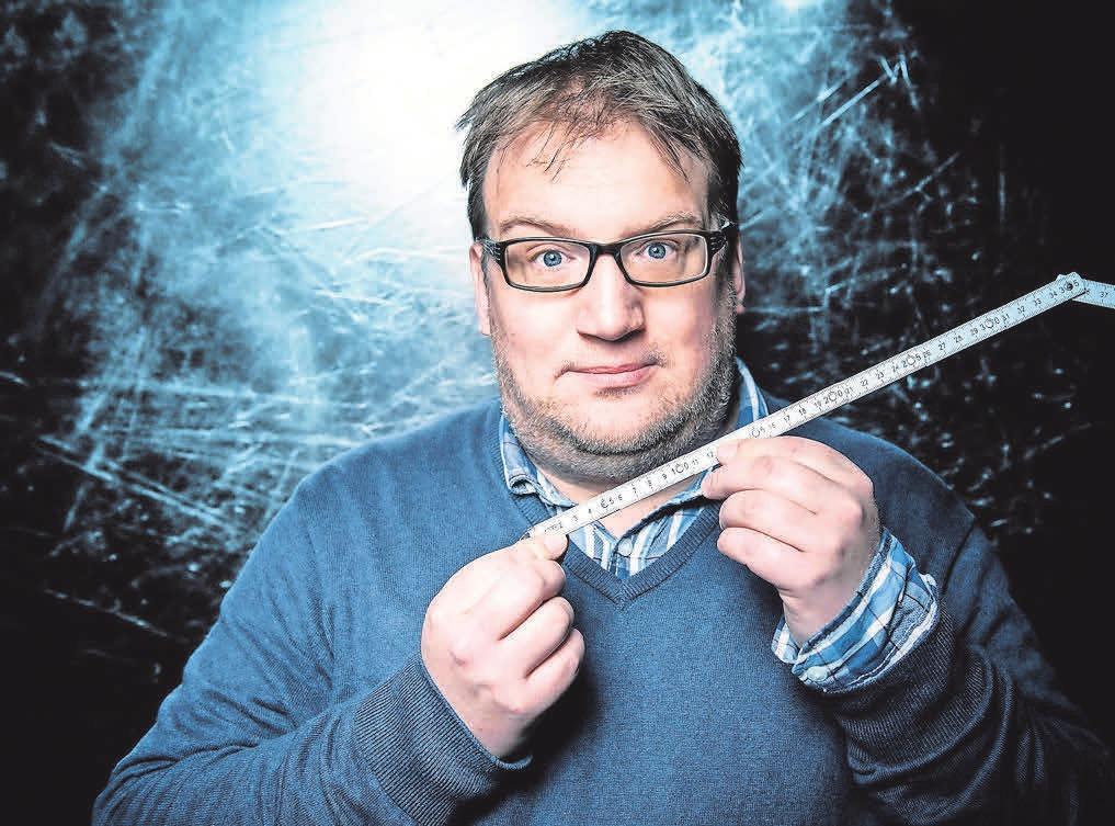 Im Fernsehen ist Jens Heinrich Claassen regelmäßig zu finden – demnächst auch in Ronnenberg.