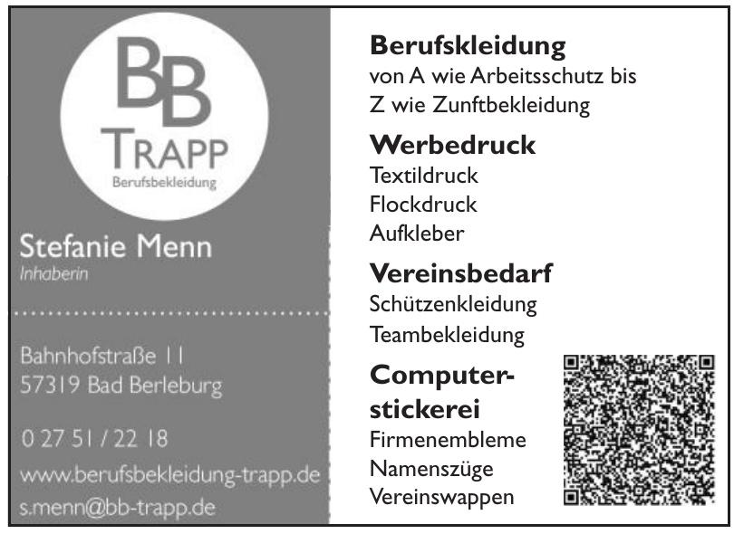 BB Trapp Berufskleidung