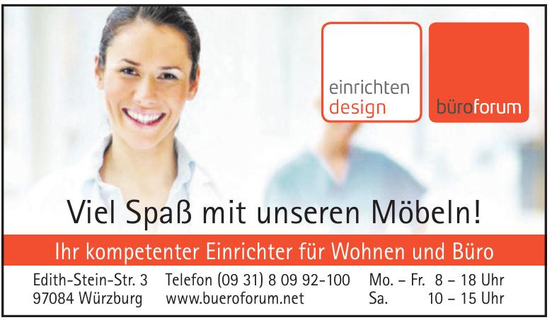 Fa. büroforum - planen und einrichten GmbH
