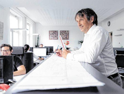 Klaus Schreiner geht seit über 25 Jahren ehrgeizig und zielstrebig seiner Berufung nach. BILD: JULIUS STARK