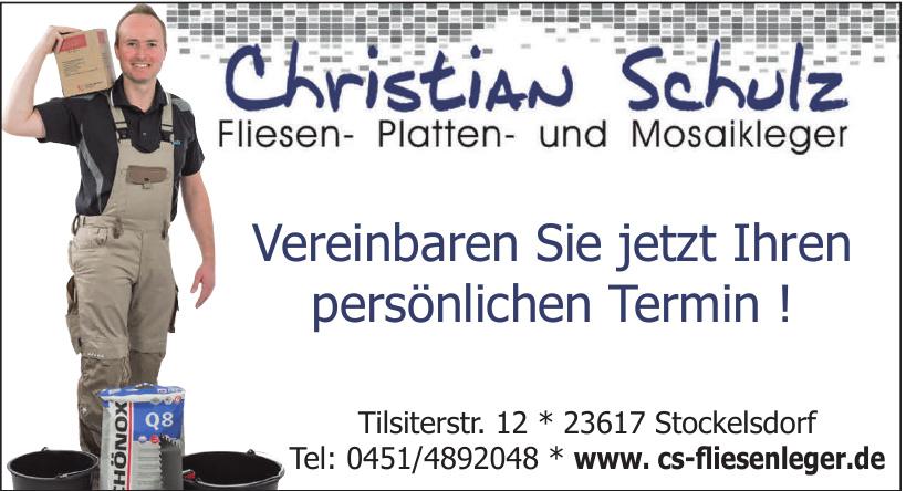 Christian Schulz Fliesen-, Platten- und Mosaikleger