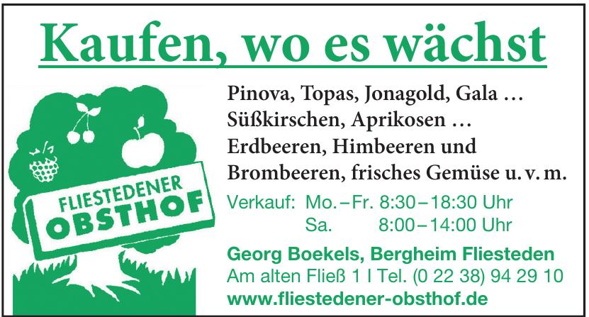 Georg Boekels - Fliesteder Obsthof