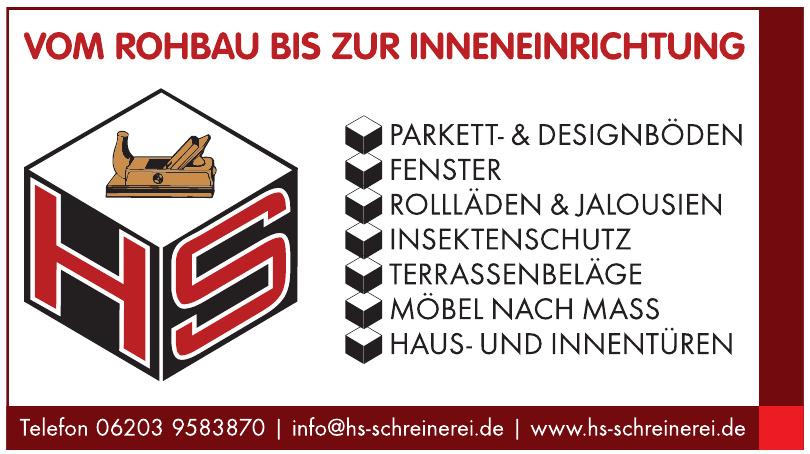 HS Schreinerei