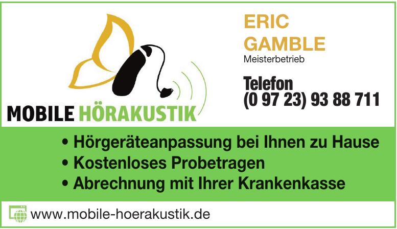 Mobile Hörakustik