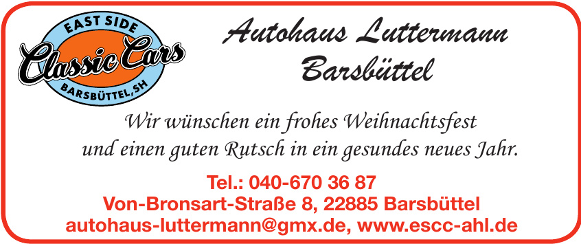 Autohaus Luttermann Barsbüttel