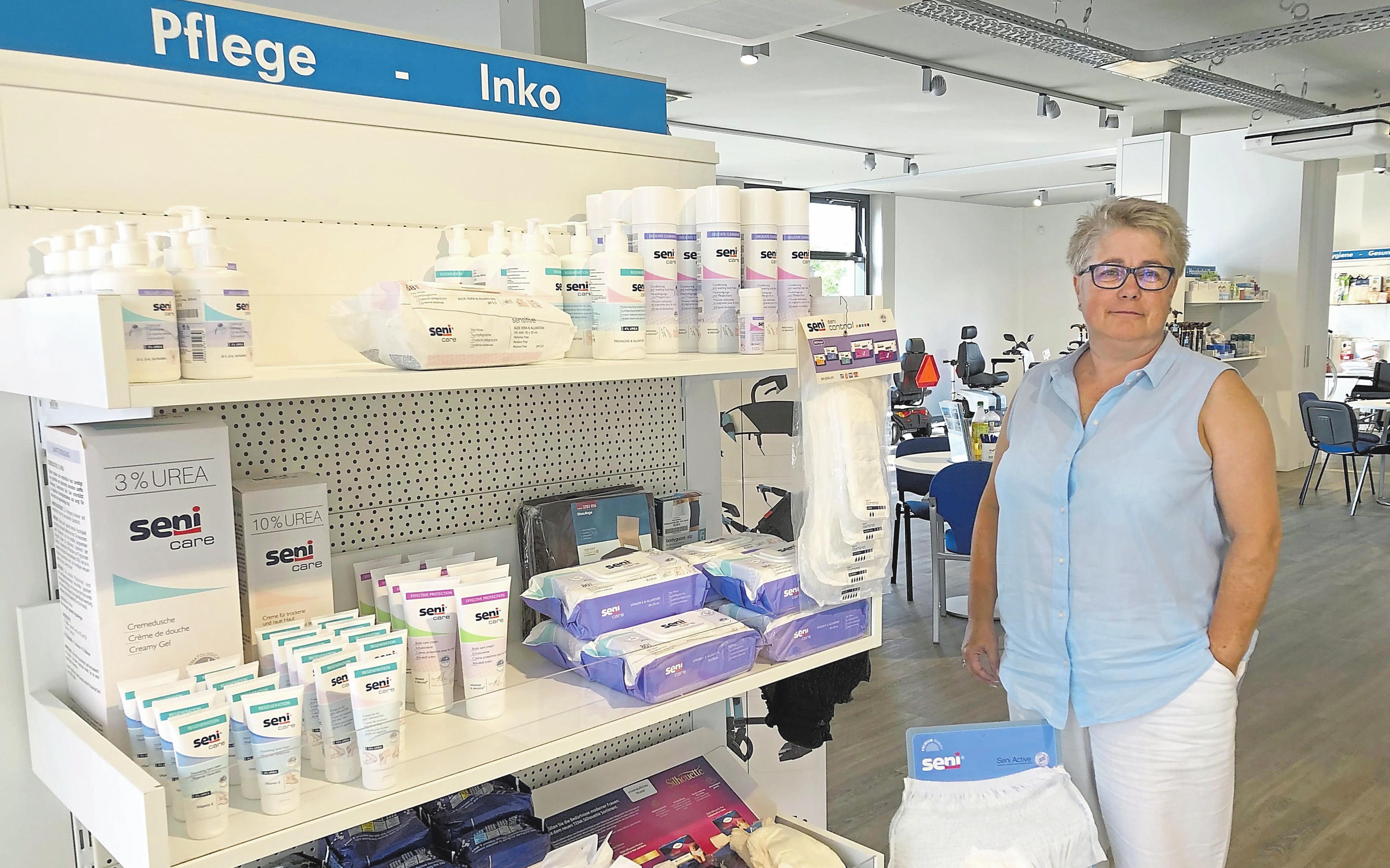 Karen Krümpel ist examinierte Krankenschwester und als Medizinprodukteberaterin für den Homecare-Bereich im Sanitätshaus Perick verantwortlich.