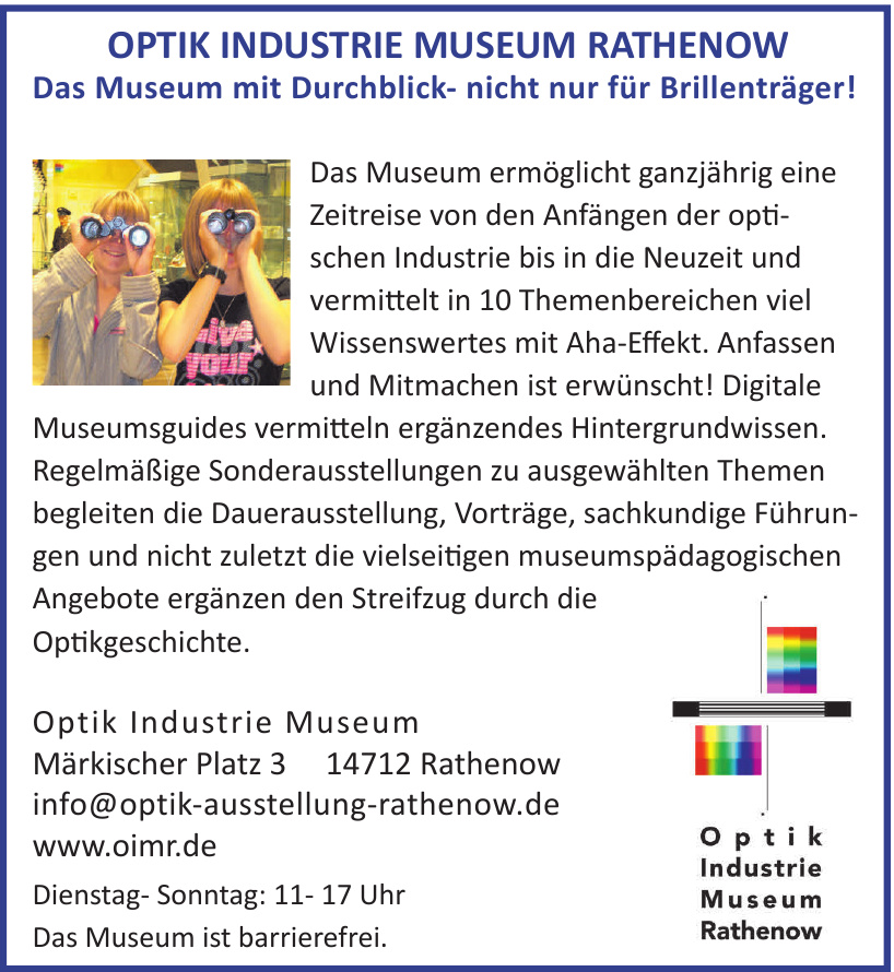 Optik Industrie Museum