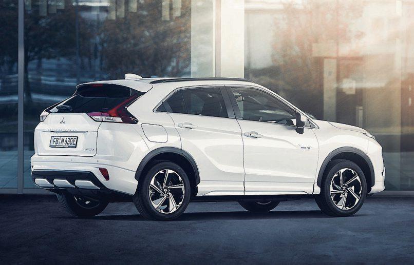 Mitsubishi Eclipse Cross Plug-in Hybrid Bild: Hersteller
