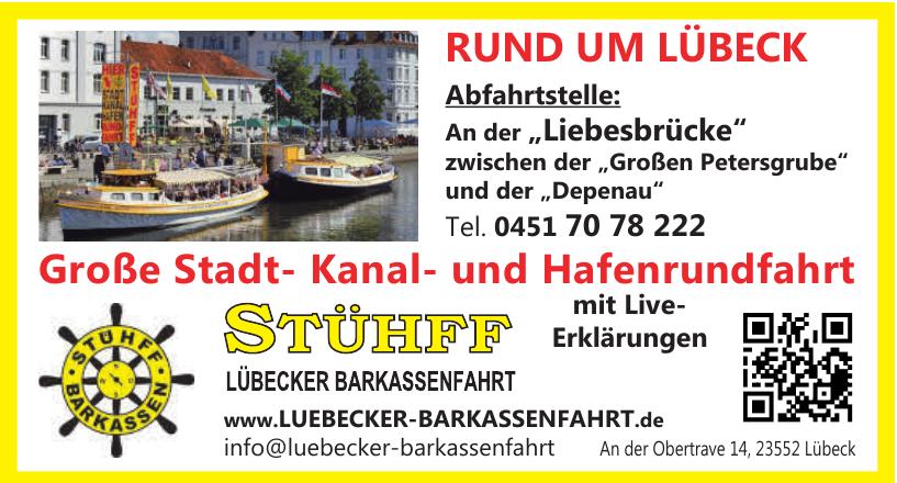 Stühff Barkassen