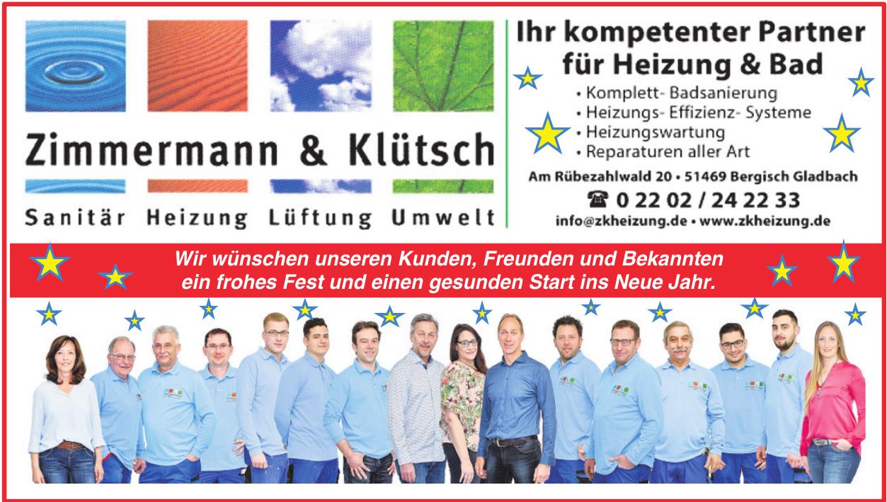 Zimmermann & Klütsch Heizung - Sanitär