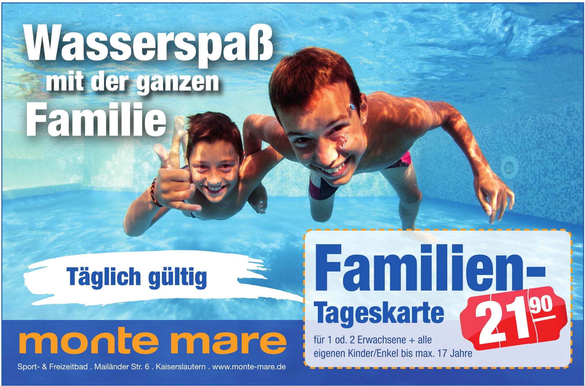 monte mare Sport- & Freizeitbad