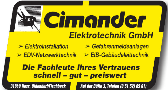 Cimander Elektrotechnik GmbH