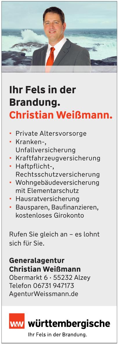 Württembergische Versicherung: Christian Weißmann
