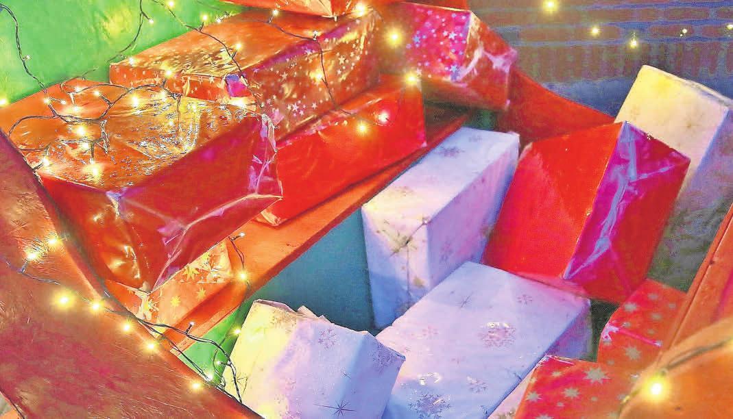 Weihnachten 2020 – schön ist es doch. Foto: Biller
