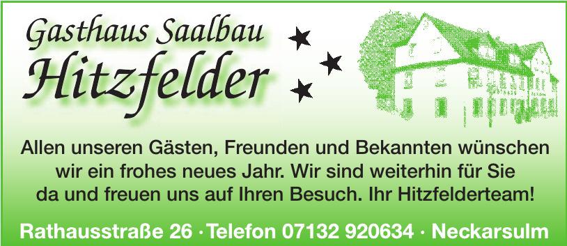 Gasthaus Saalbau Hitzfelder