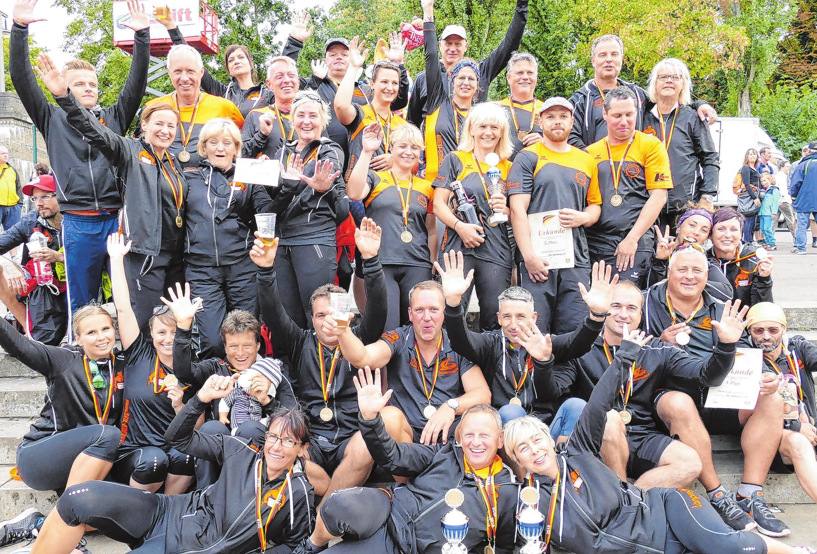 2018 holten die Rathenower Meistertitel. Fotos: privat
