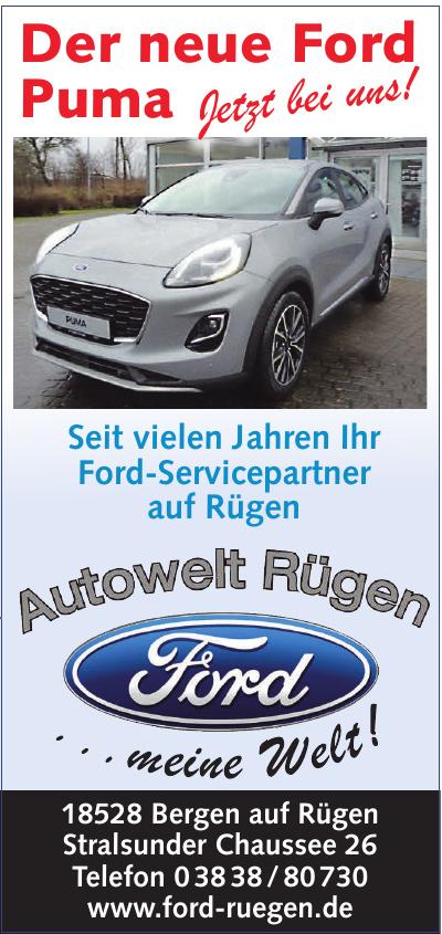Autowelt Rügen