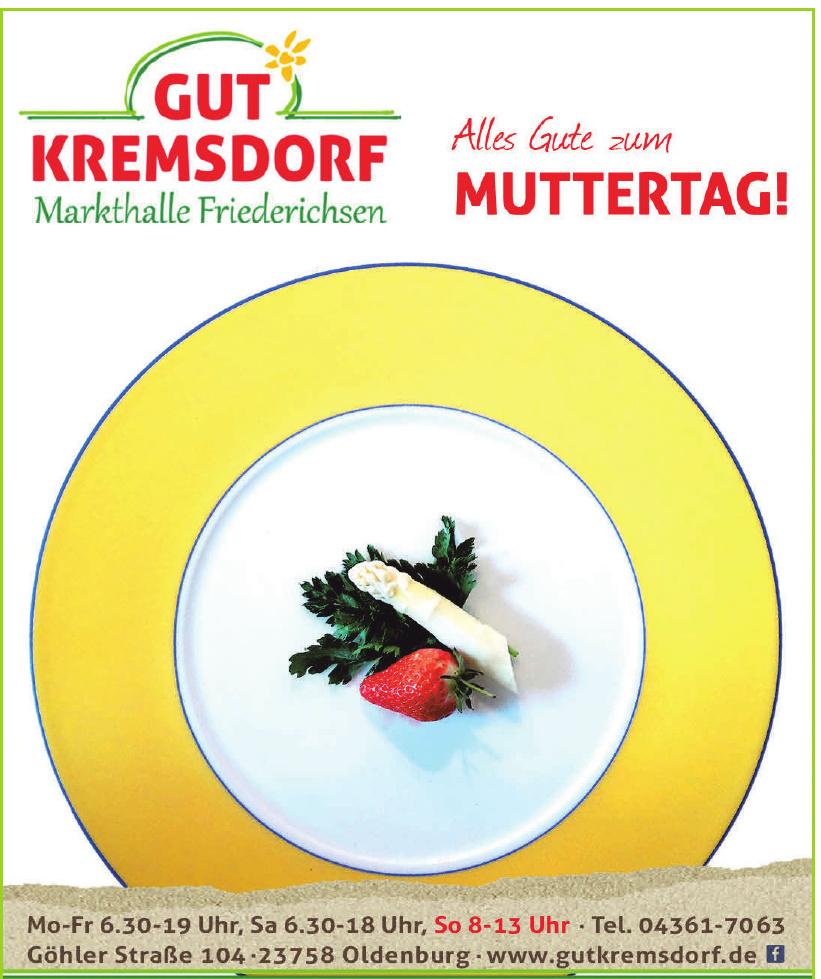 Gut Kremsdorf Markthalle Friederichsen
