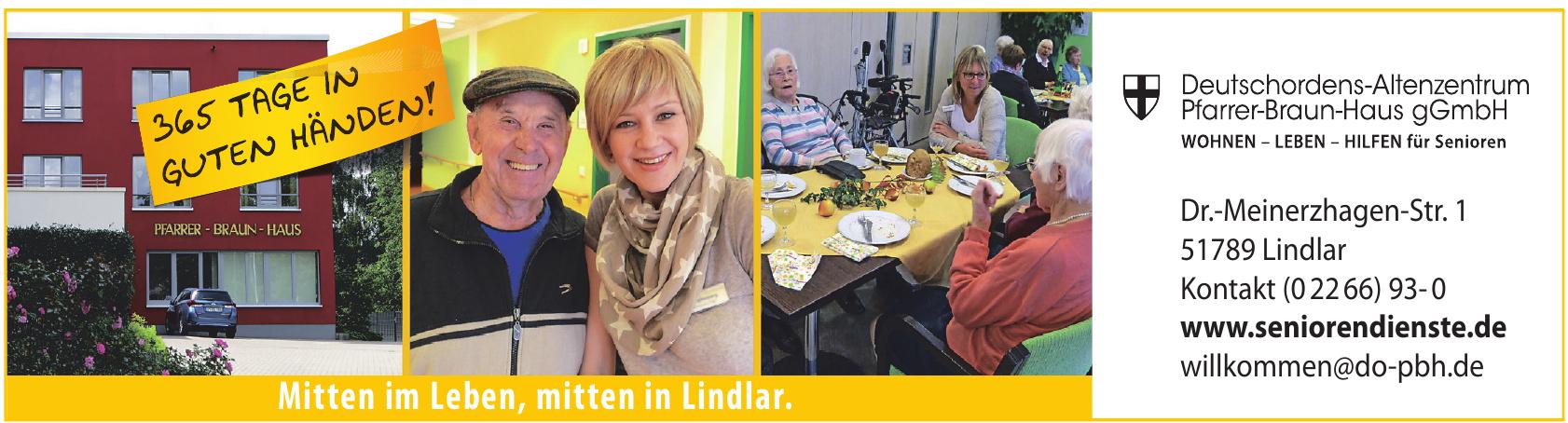 Deutschordens-Altenzentrum Pfarrer-Braun-Haus gGmbH