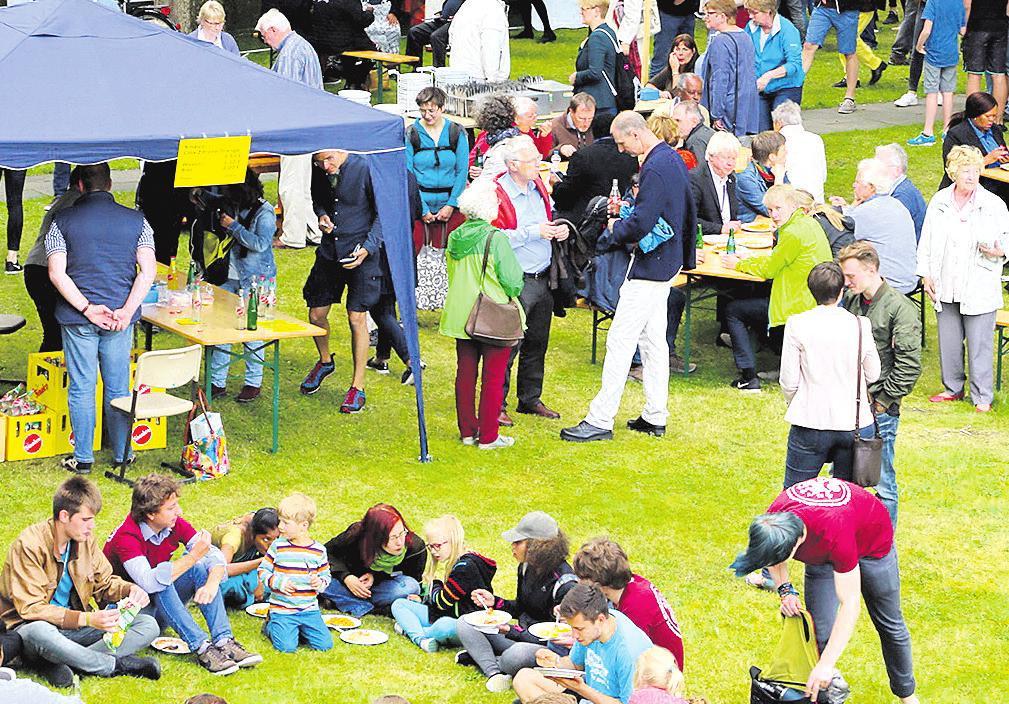 Das Hermannsburger Missionsfest ist seit vielen Jahren immer wieder ein Begegnungsraum für Christen aus aller Welt. Foto: ELM