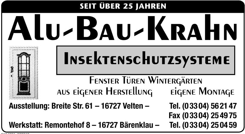 Alu-Bau-Krahn