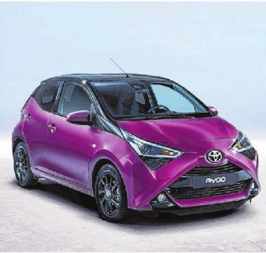 Der spritzige Toyota Aygo wird zur Neueröffnung des Finkbeiner Getränke-Fachmarktes in Ehingen verlost.