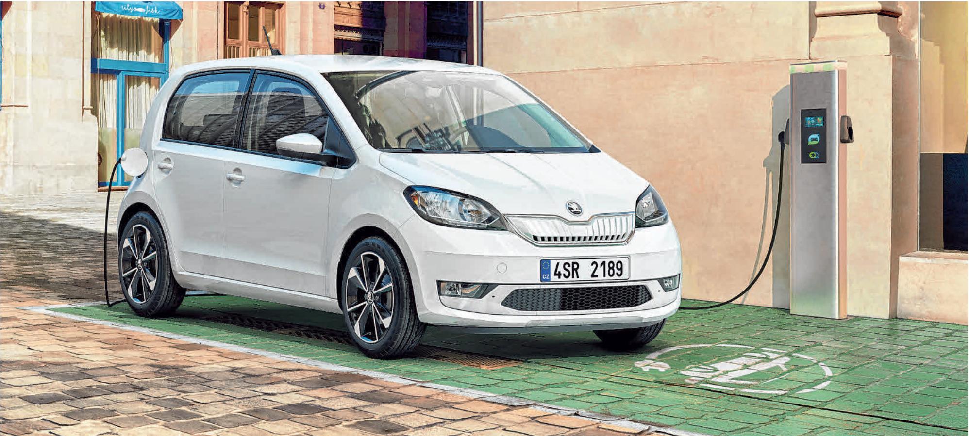 """Der neue Skoda """"Citigo iV"""" wird beim großen Skoda-Buffet im Autohaus Selig vorgestellt. Dort können Probefahrten vereinbart werden. FOTOS: SKODA"""