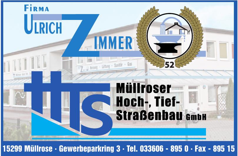 Firma Ulrich Zimmer