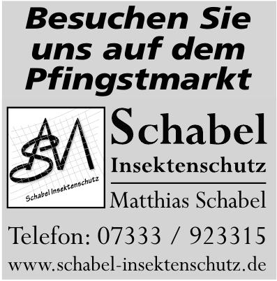 Matthias Schabel Insektenschutz