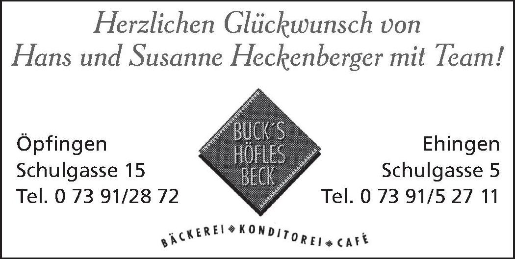 Buck's Höfles Beck