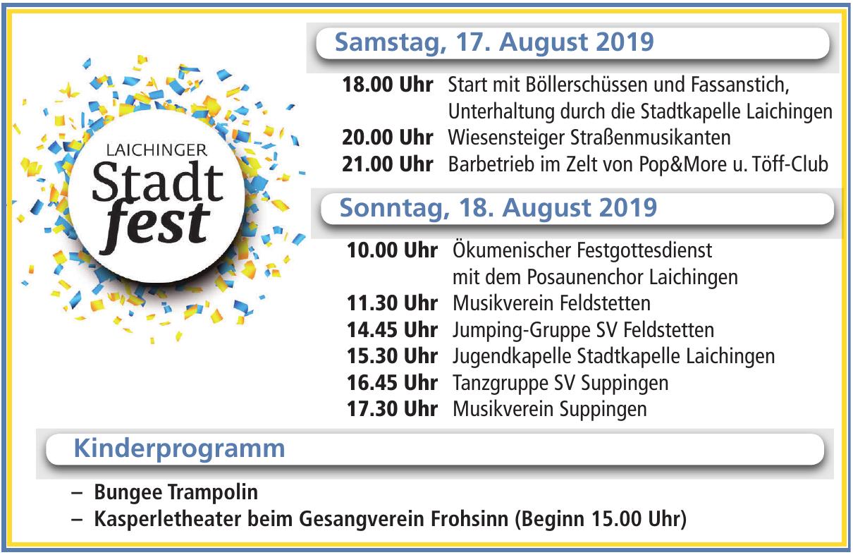 Laichinger Stadtfest