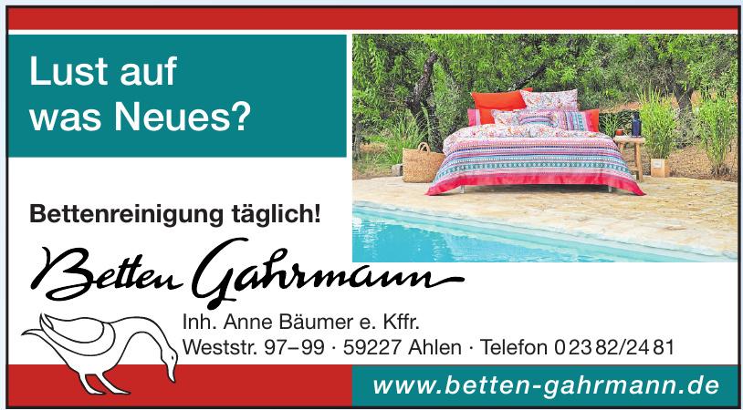 Betten Gahrmann