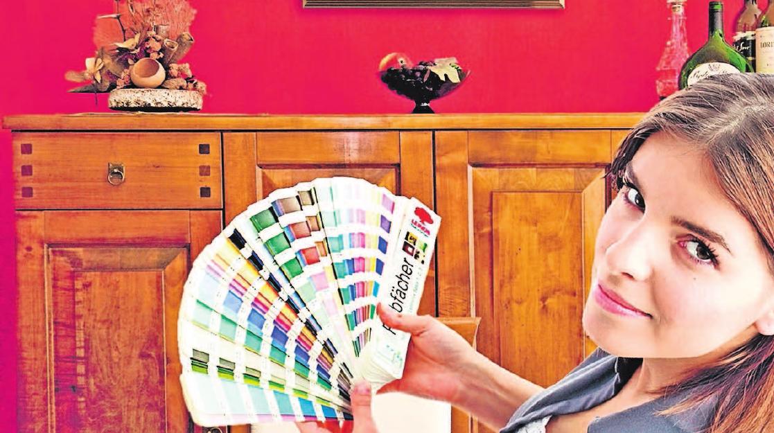 Knallige Farbtöne bringen Abwechslung in die häuslichen vier Wände. Fotos: hlc/lein
