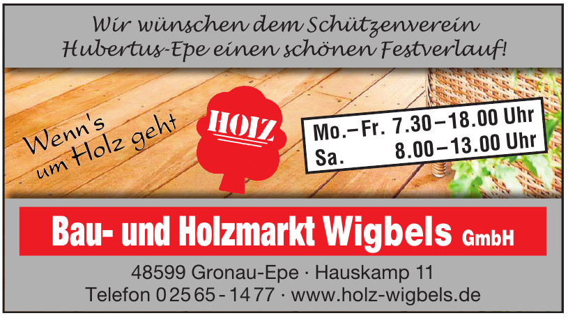 Bau- und Holzmarkt Wigbels GmbH