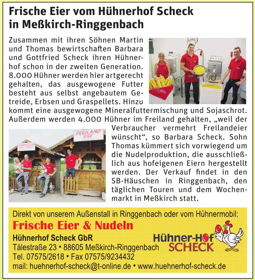 Hühnerhof Scheck