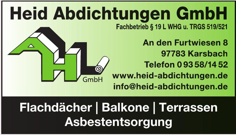 Heid Abdichtungen GmbH