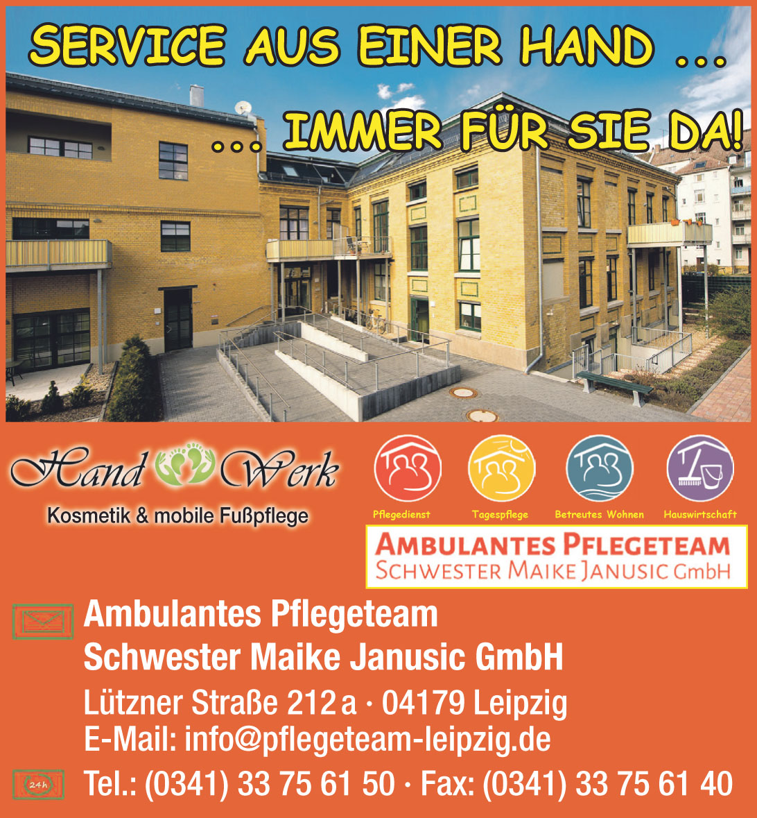 Ambulantes Pflegeteam Schwester Maike Janusic GmbH