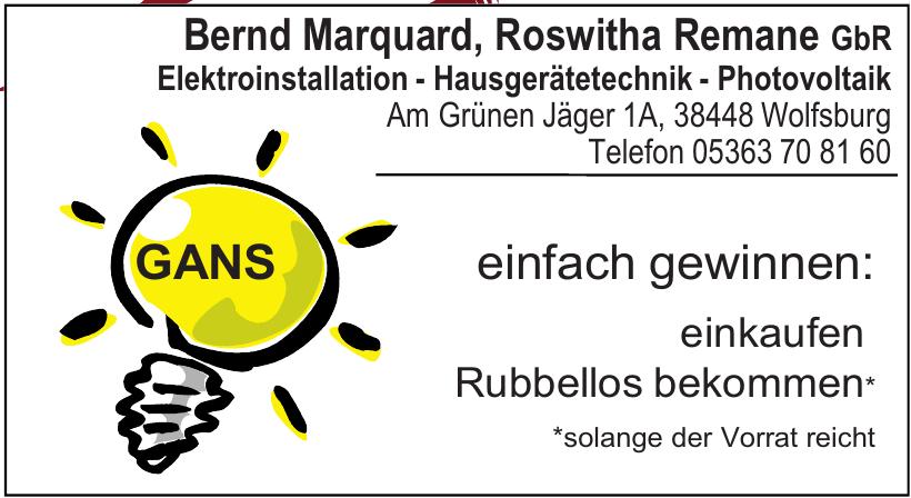 Bernd Marquard, Roswitha Remane GbR