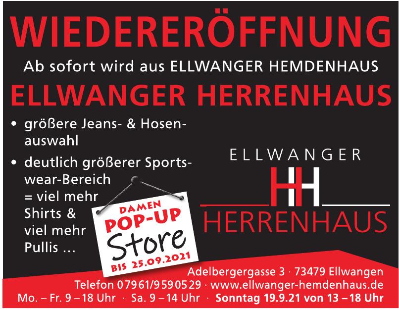 Ellwanger Hemdenhaus
