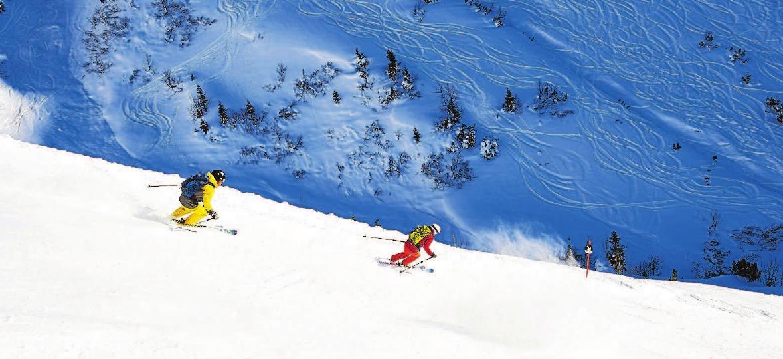 Ein Skitag am Nebelhorn mit der längsten beschneiten Talabfahrt Deutschlands bereitet wahrscheinlich vor allem den sportlichenWinterfans eine helle Freude. Fotos: Oberstdorf · Kleinwalsertal Bergbahnen
