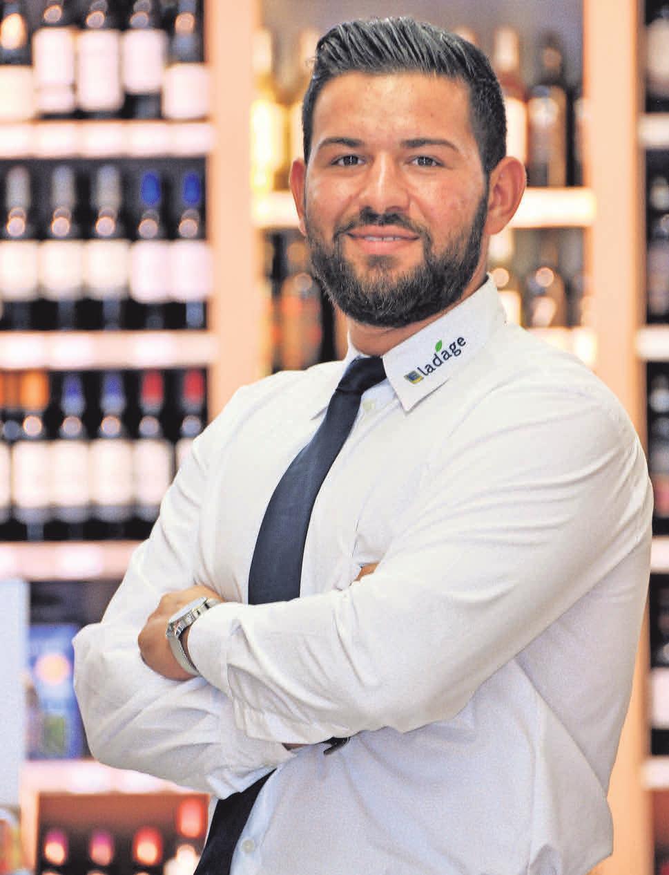 Mohammad Eshghirad leitet künftig den neuen EDEKA-Ladage-Frischemarkt in Arnum.