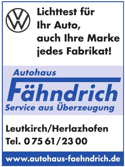 Autohaus Fähndrich GmbH
