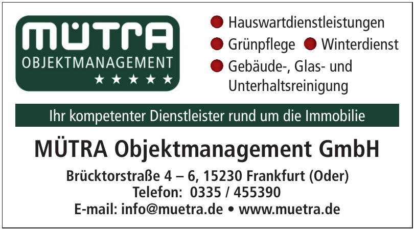 Mütra Objektmanagement GmbH