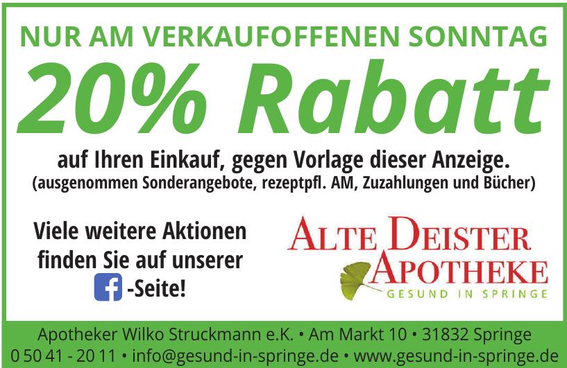 Apotheker Wilko Struckmann e.K.